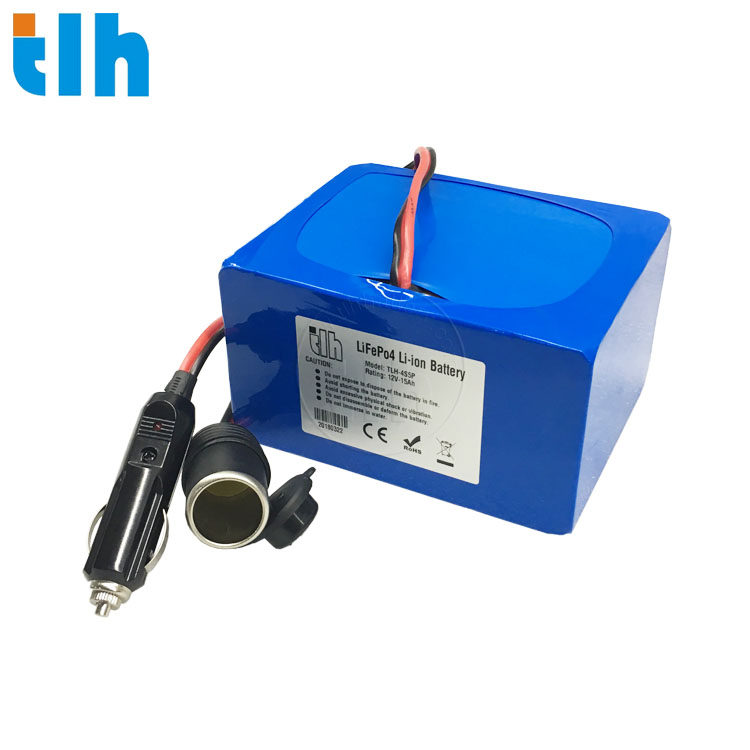 LIFEPO4 BATTERY PACK 12V 15AH FOR OXYGEN MACHINE