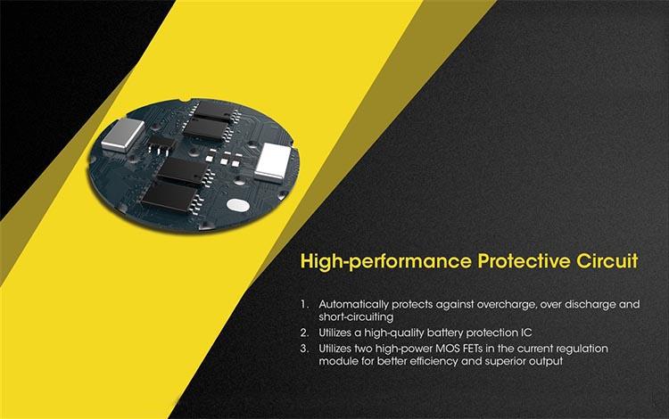 battery performance of 21700 battery packs