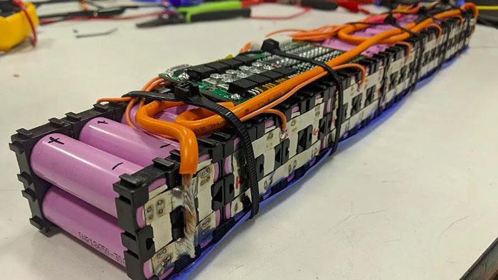 Figure 1 18650 custom battery pack