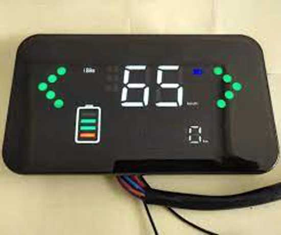 LED pointer for 72V e-bike battery