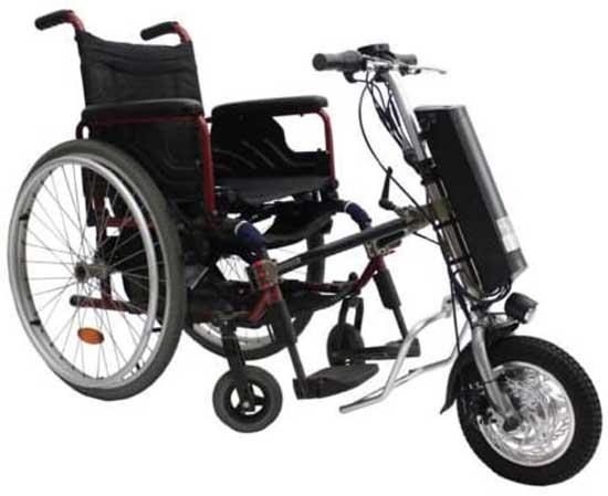 72V E-bike battery in wheel chair