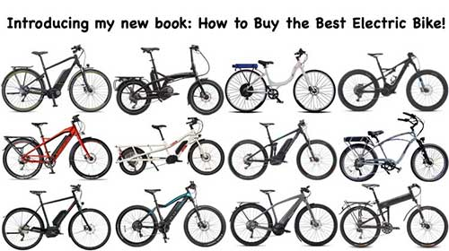 Different types of Electric Bikes