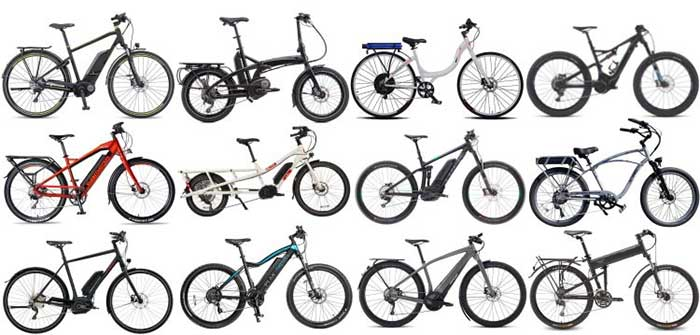 Different types of 48v electric bikes