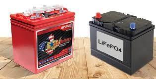 Figure 1 Lithium golf cart battery