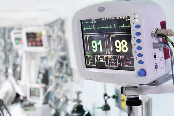 Figure 2 A battery powered patient monitor
