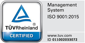 TLH TUV ISO 9001:2015 CERTIFIED