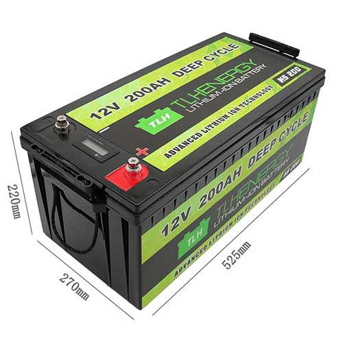 figure 2 lifepo4 deep cycle 12v li-ion battery