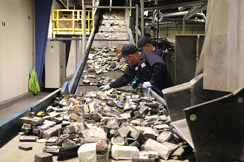 Disposal of Lithium battery packs