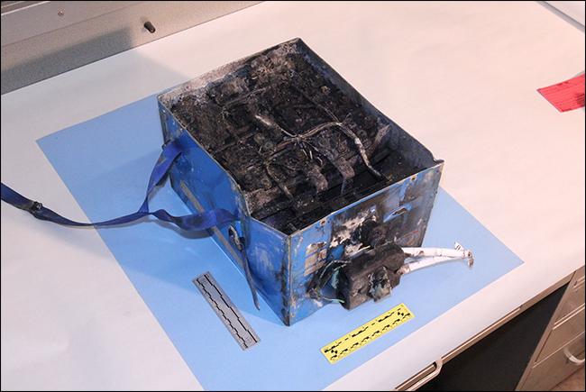 exploded 72V lithium battery pack