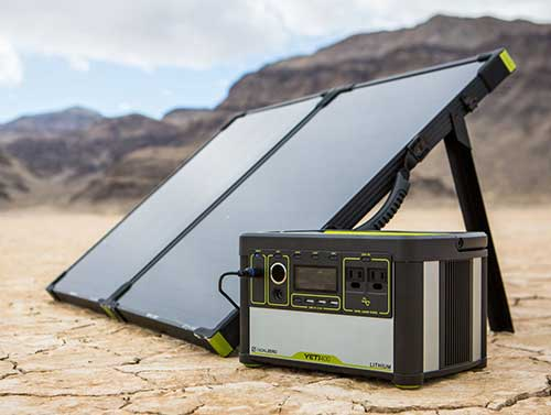 Portable Power Station and Solar Chargers