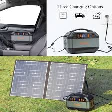 Charging Options of Portable Power Supply For Camping