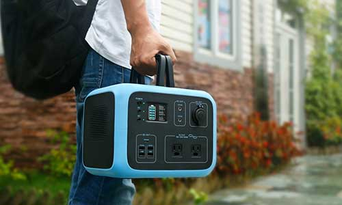 Portable Power Station with-high Portability Efficiency