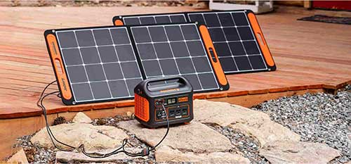 Portable Power Station and Solar Panels