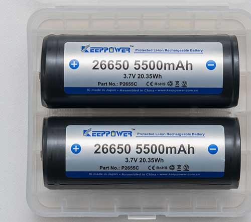 5500 mAh Lithium Battery