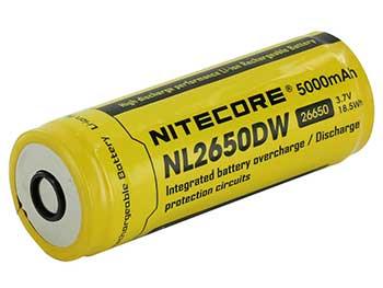 Nitecore NI 26650 Battery