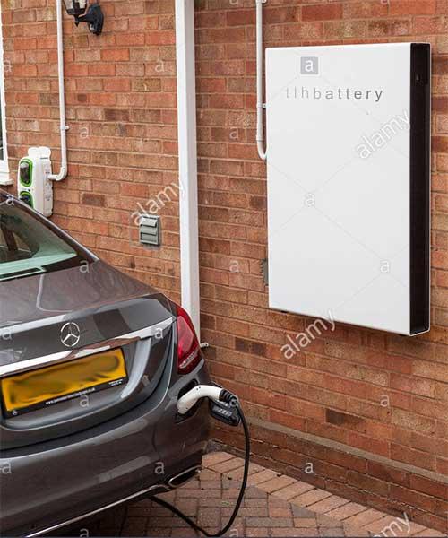 Powerwall Charging a Car